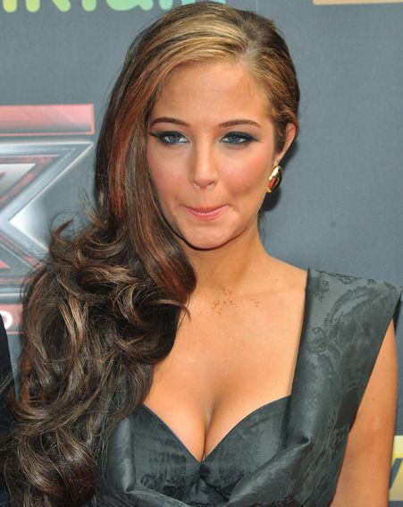 Tulisa shows off her new look at the X Factor launch