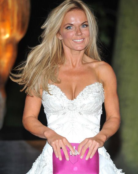 Geri did look gorgeous, it has to be said