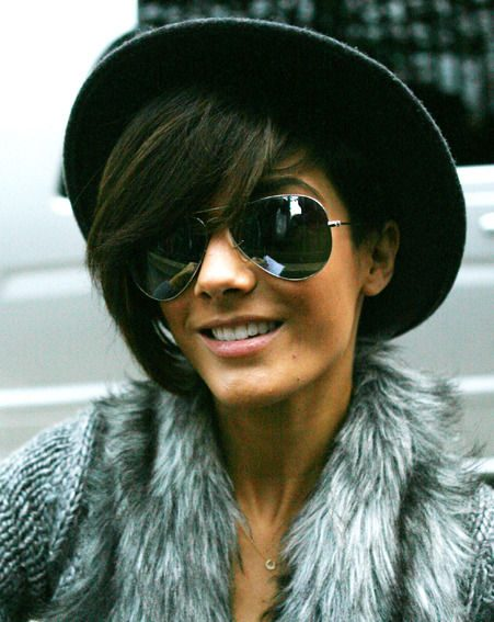 Frankie Sandford was out and about after her recent hospital visit