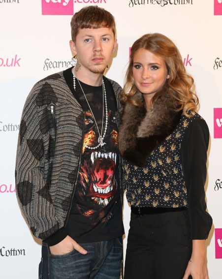 Caggie dunlop has spoken to new! about Millie Mackintosh and Professor Green's relationship