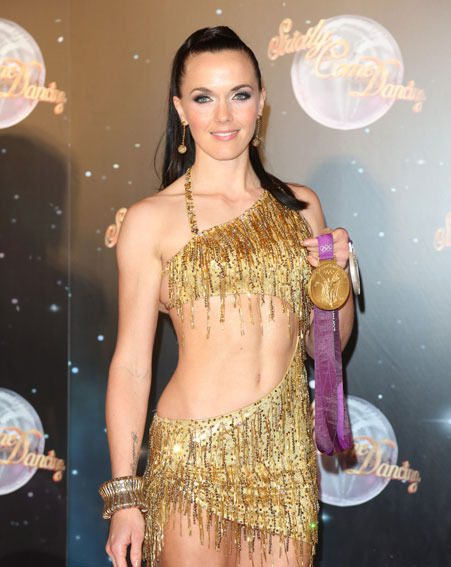 Victoria Pendleton has admitted that she's not happy with her Strictly Come Dancing body