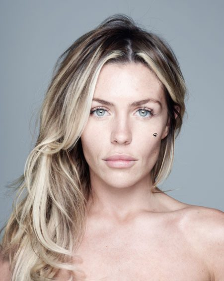 Abbey Clancy is supporting the Children in Need BearFaced Day campaign on Friday 9th November