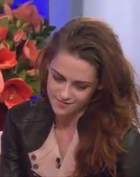 Kristen Stewart looked awkward when she was asked about Robert Pattinson on The Today Show