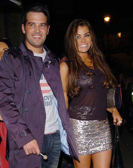 Ricky Rayment showed her support for girlfriend Jessica Wright at the Alexis Smith lingerie launch