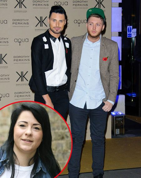 The X Factor's Rylan Clark spoke about Lucy Spraggan at the Kardashian Kollection launch last night