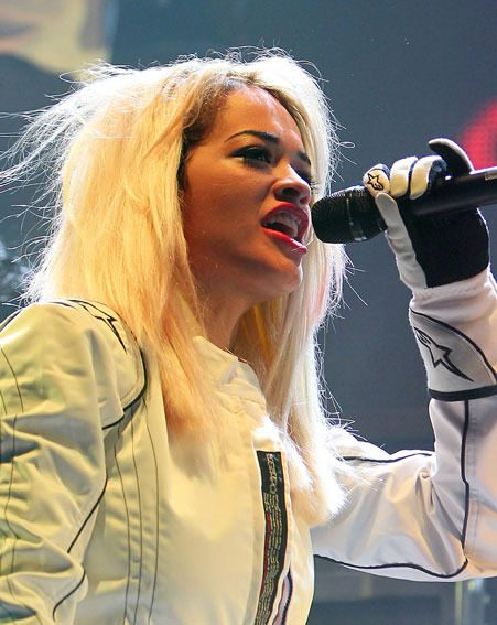 Rita Ora apologised to fans for her embarrassing nipple slip