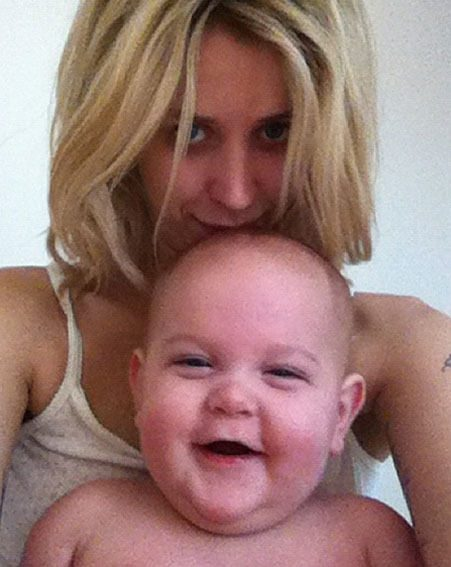 Peaches Geldof gave birth to her son Astala six months ago