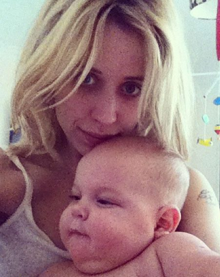 Peaches Geldof admitted she was shocked when she found out about the pregnancy