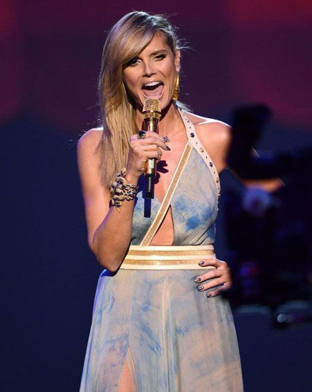 Heidi Klum wore an impressive six outfits for the MTV EMAs in Germany