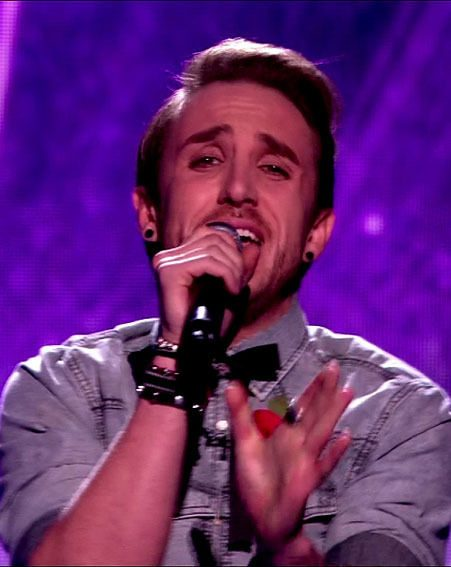 Kye Sones lost out to Rylan Clark in The X Factor sing-off