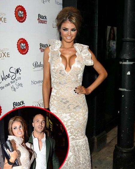 Chloe Sims made sure all eyes were on her at her The Only Way Is Up book launch last night