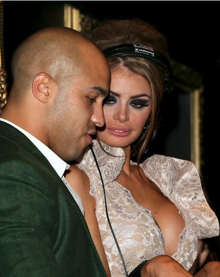 Chloe Sims took time out from the party to DJ with new beau and TOWIE co-star Darrell Privett
