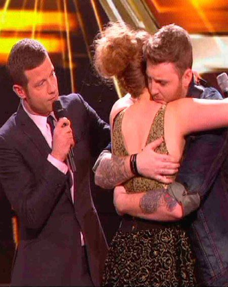 Ella Henderson lost out to James Arthur in a shocking X Factor sing-off last night