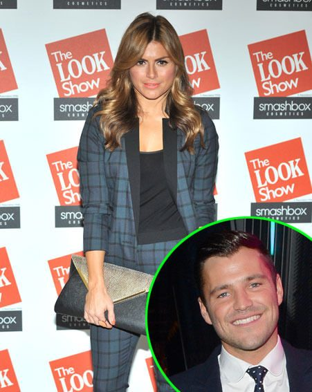 Zoe Hardman has admitted that she has a sneak peek at Mark Wright when he's in his boxers