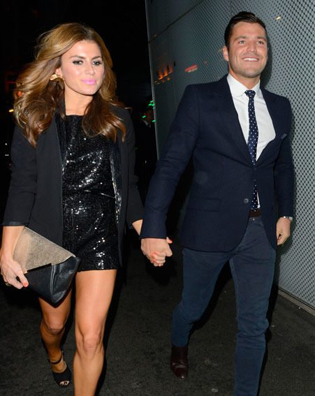 Mark Wright and Zoe Hardman were spotted holding hands at a recent ITV2 party