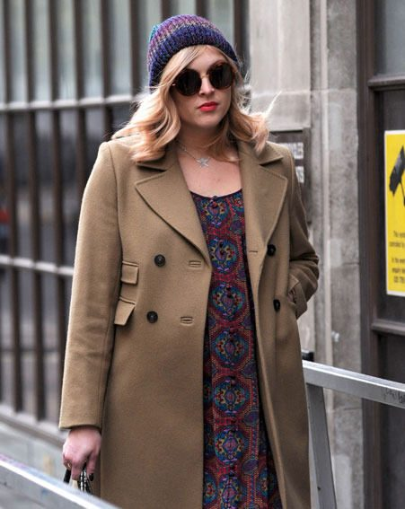 Fearne Cotton looked super-stylish as she left the BBC Radio 1 studio