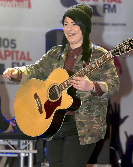 Lucy Spraggan won't be taking part in The X Factor 2012 tour