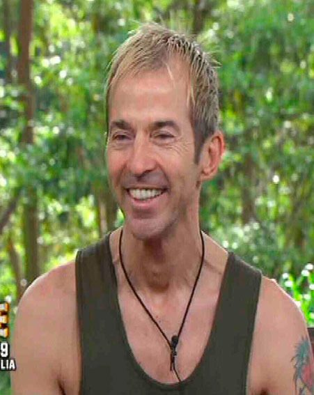 Limahl was evicted from the I'm A Celebrity...Get Me Out Of Here! jungle last night