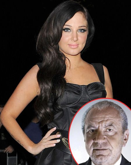 X Factor judge Tulisa called Lord Alan Sugar 'an ugly hobbit' after he said she should be sacked