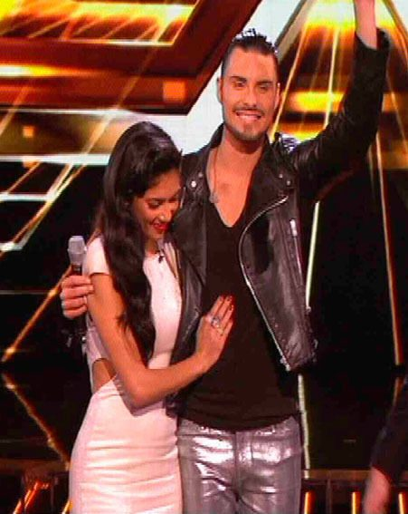 Nicole Scherzinger said goodbye to Rylan Clark on last night's The X Factor results show