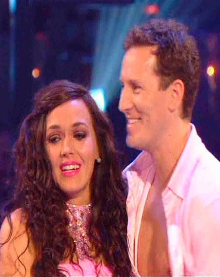 Victoria Pendleton and her dance partner Brendan Cole lost out in the dance off