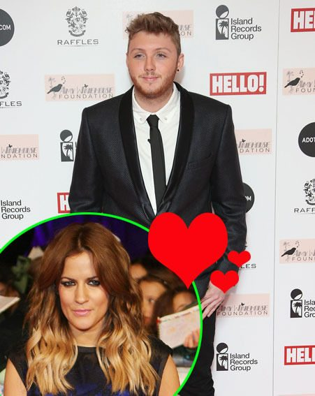 James Arthur wants to take Caroline Flack on a date when The X Factor finishes