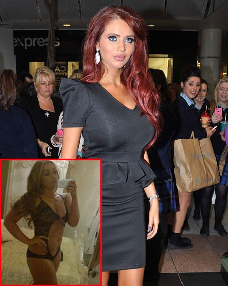 Amy Childs defended Lauren Goodger's half-naked Twitter pictures