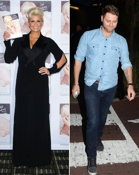 Kerry Katona admitted that she wanted Brian McFadden to take her back while she was with Mark Croft