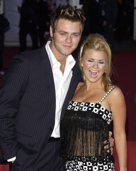 Kerry Katona and Brian McFadden have two children together