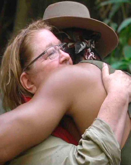 Rosemary Shrager told Ant and Dec she wants David Haye to win I'm A Celebrity 2012