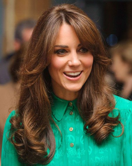 Kate Middleton debuted her new hairdo at the Natural History Museum yesterday