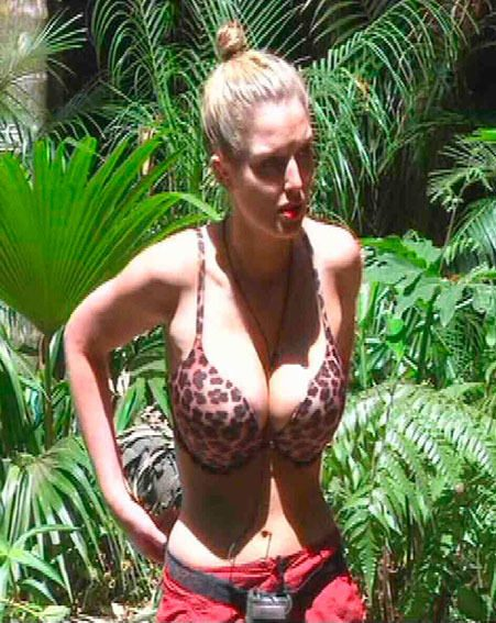 Helen Flanagan is missing showing off her curves in the I'm A Celebrity jungle