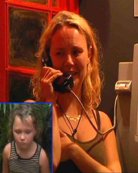 Charlie Brooks spoke to her daughter on I'm A Celebrity...Get Me Out Of Here! 2012 last night