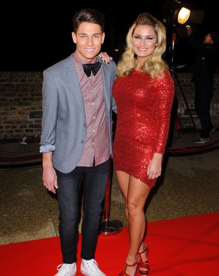 Joey Essex looked as though he was going to propose to Sam Faiers on last night's live TOWIE episode