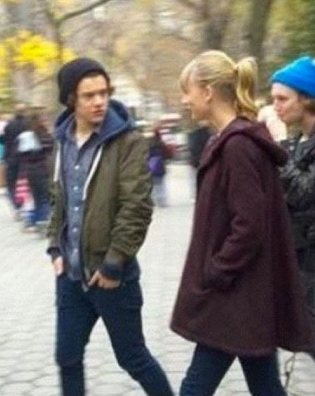 Harry Styles and Taylor Swift were pictured together for the first time on Monday