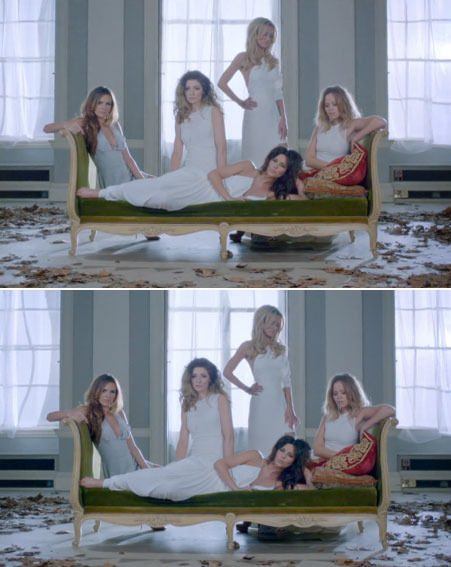 Girls Aloud have unveiled their music video for new track Beautiful 'Cause You Love Me.