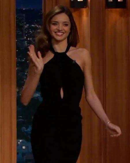 Miranda Kerr told Craig Ferguson her relationship secrets on The Late Late Show on Monday