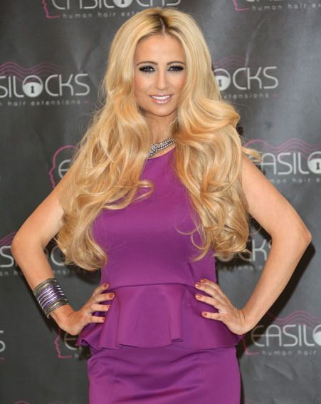 Chantelle Houghton looked stunning at the Easilocks launch yesterday