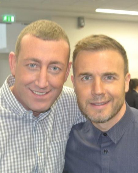 Christopher Maloney and Gary Barlow are gearing up for The X Factor final