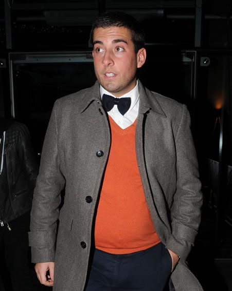TOWIE's James Argent also made an appearance at The X Factor 2012 after-party