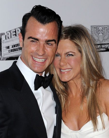 Jennifer Aniston got engaged to Justin Theroux in August this year