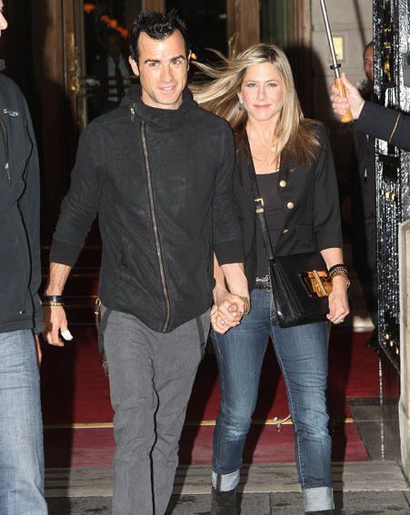 Jennifer Aniston sparked baby speculation when she avoided alcohol at her engagement party