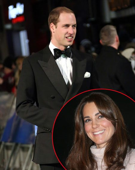 Kate Middleton decided to rest while Prince William attended The Hobbit UK premiere