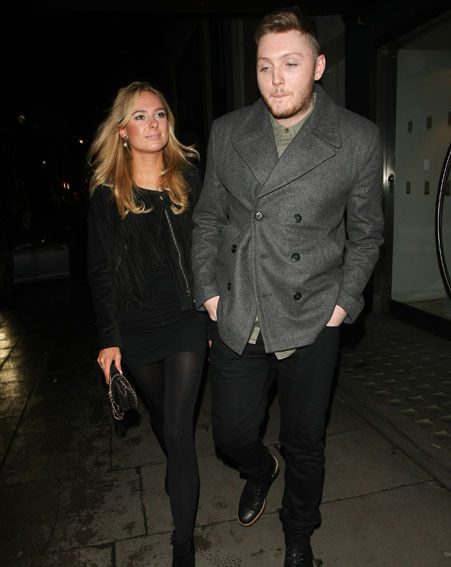 The X Factor's James Arthur took Kimberley Garner on a hot date to Mayfair's Hakkasan restaurant