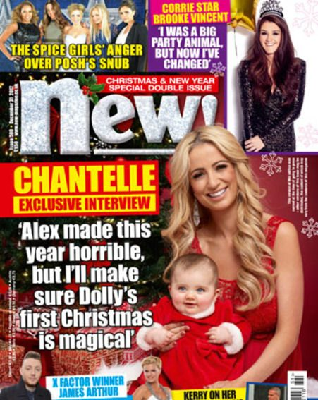 Chantelle Houghton opens up about her horrible year in the week's Christmas and New Year special