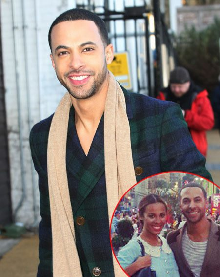 Marvin Humes spoke exclusively to new! magazine about his baby excitement