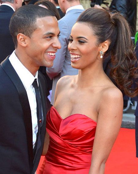 Rochelle Wiseman and Marvin Humes announced they're expecting their first baby last month
