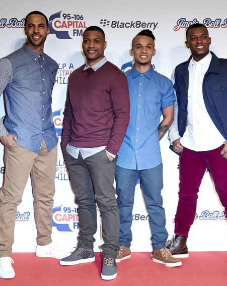 JLS are looking forward to Marvin Humes and Rochelle Wiseman having a baby
