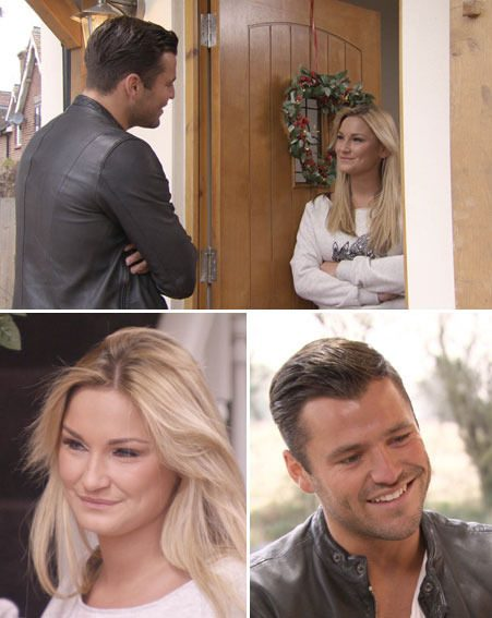 Mark Wright visits ex girlfriend Sam Faiers in tonight's TOWIE Christmas special