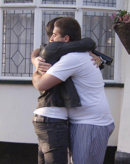 Mark Wright was reunited with James Argent when he made his TOWIE comeback